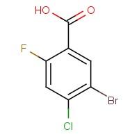 5-Bromo-4-chloro-2-fluorobenzoic acid