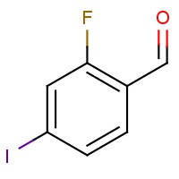 2-Fluoro-4-iodobenzaldehyde
