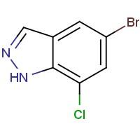 5-Bromo-7-chloro-1H-indazole