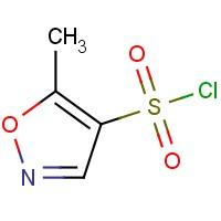 5-Methyl-4-isoxazolesulfonyl chloride