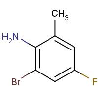 2-Bromo-4-fluoro-6-methylaniline