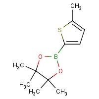 4,4,5,5-Tetramethyl-2-(5-methylthiophen-2-yl)-1,3,2-dioxaborolane