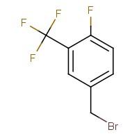 4-(Bromomethyl)-1-fluoro-2-(trifluoromethyl)benzene
