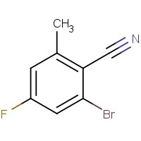 2-Bromo-4-fluoro-6-methylbenzonitrile