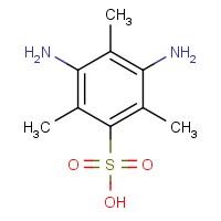 3,5-Diamino-2,4,6-trimethylbenzenesulfonic acid