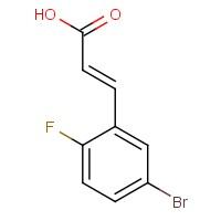 5-Bromo-2-fluorocinnamic acid