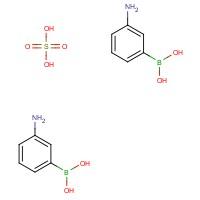 (3-Aminophenyl)boronic acid sulfate (2:1)