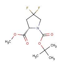 (S)-1-tert-Butyl 2-methyl 4,4-difluoropyrrolidine-1,2-dicarboxylate