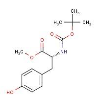 (R)-Methyl 2-((tert-butoxycarbonyl)amino)-3-(4-hydroxyphenyl)propanoate