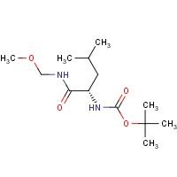 (S)-tert-Butyl (1-((methoxymethyl)amino)-4-methyl-1-oxopentan-2-yl)carbamate