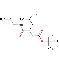 (S)-tert-Butyl (1-((methoxymethyl)amino)-4-methyl-1-oxopentan-2-yl)carbamate