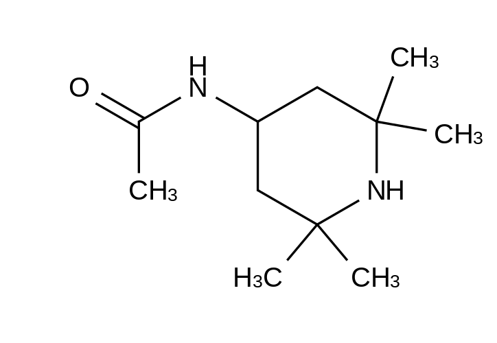 4-Acetamido-2,2,6,6-tetramethylpiperidine