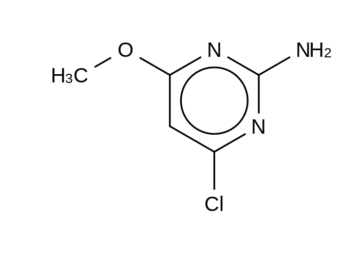 2-Amino-4-chloro-6-methoxy-pyrimidine