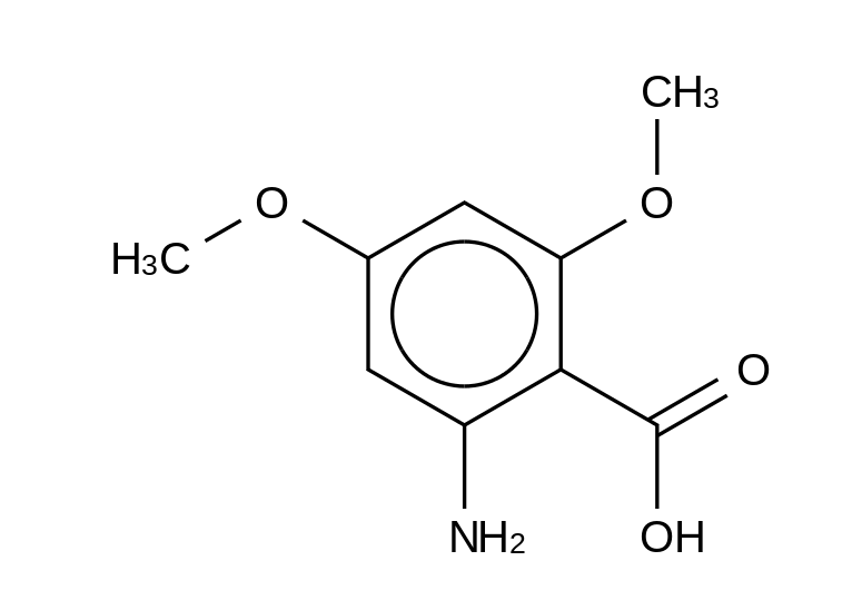2-Amino-4,6-dimethoxybenzoic Acid