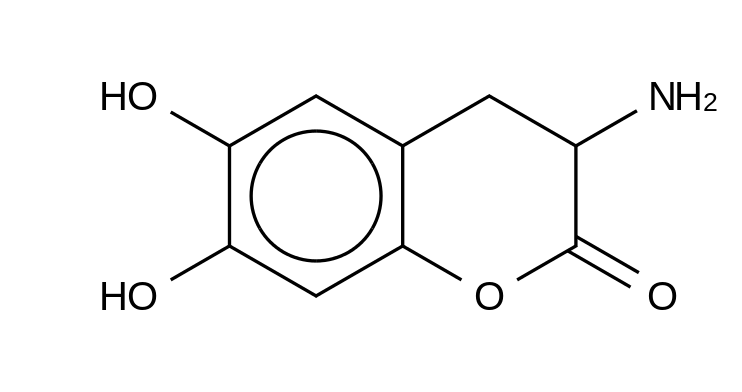 (S)-3-Amino-6,7-dihydroxyhydrocoumarin HCl