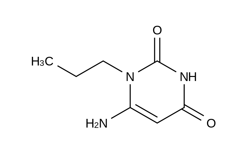 6-Amino-1-propyluracil