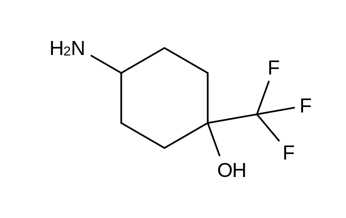 4-Amino-1-(trifluoromethyl)cyclohexanol HCl