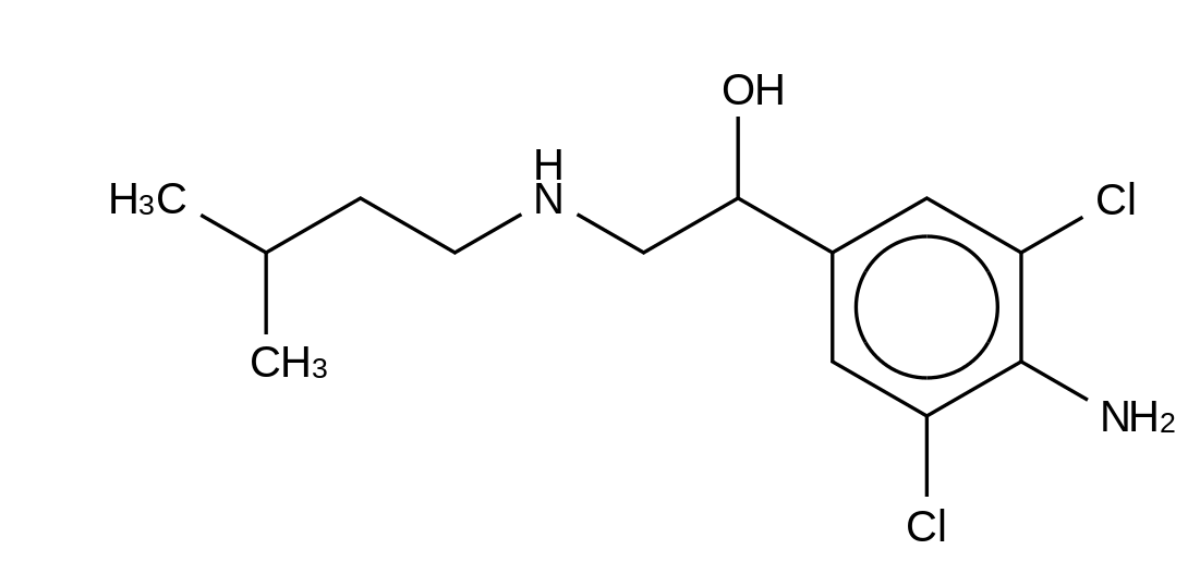 Clenisopenterol hydrochloride