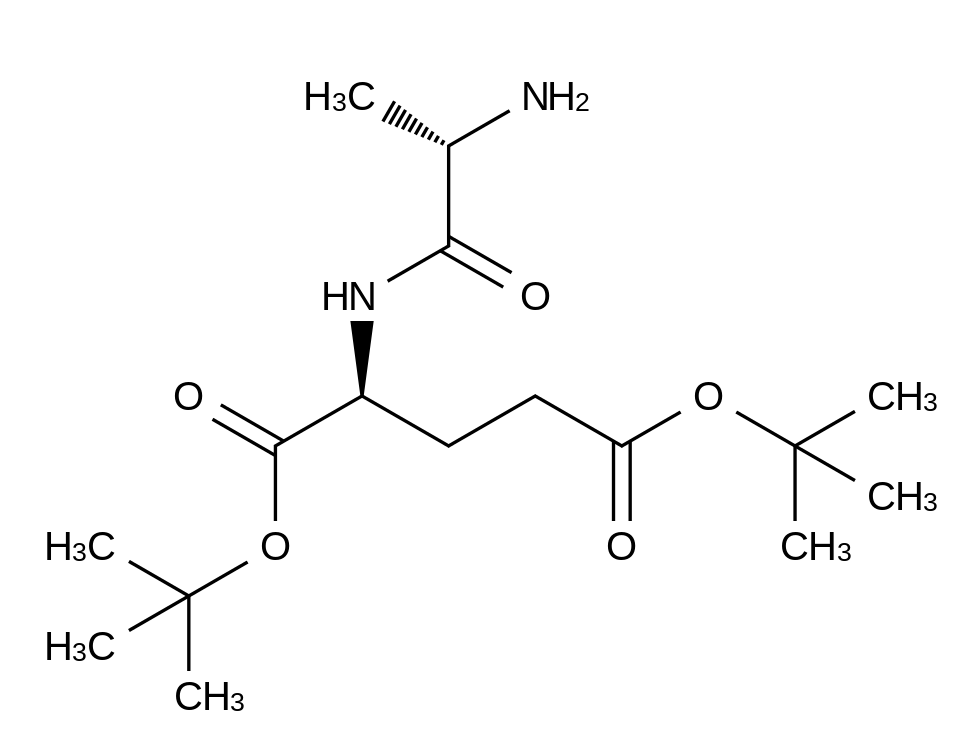 N-L-Alanyl-L-glutamic Acid Bis(tert-butyl) Ester