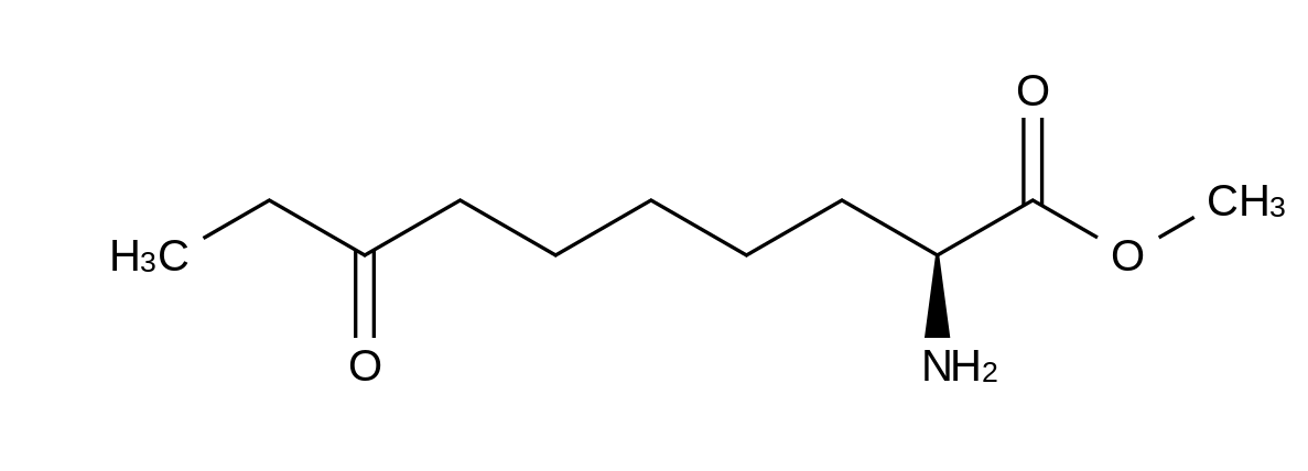 (S)-2-Amino-8-oxodecanoic Acid Methyl Ester