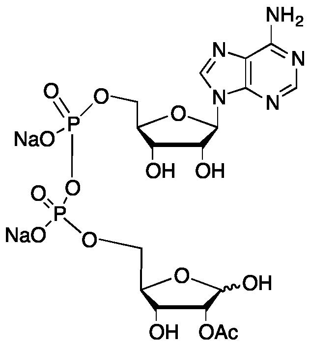 2'/3'-O-Acetyl ADP ribose disodium salt