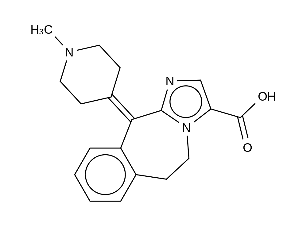 Alcaftadine 3-Carboxylic Acid