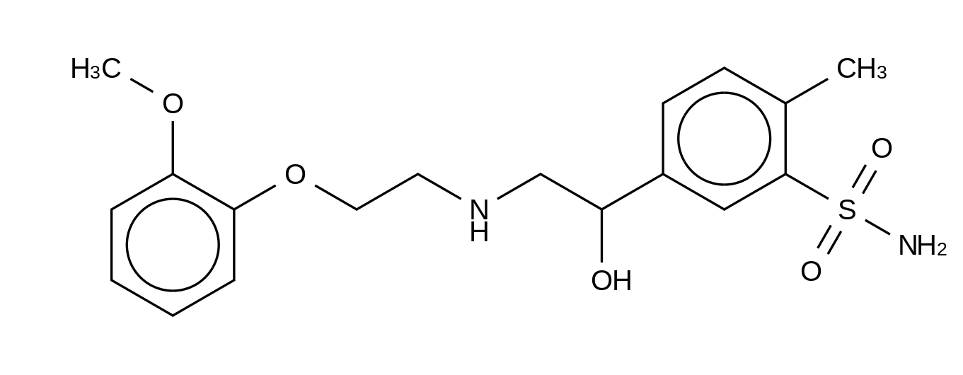 Amosulalol HCl