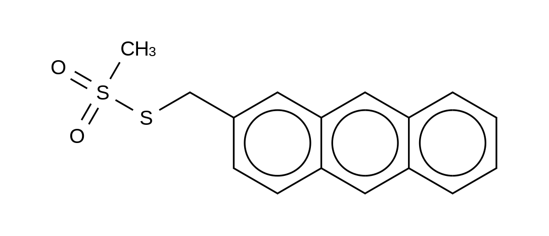 2-Anthracenylmethyl Methanesulfonothioate