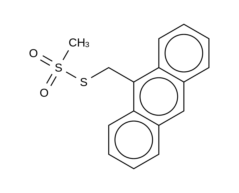 9-Anthracenylmethyl Methanesulfonothioate