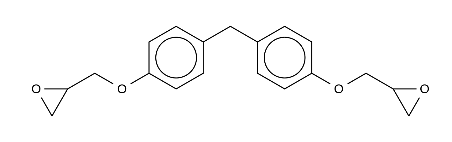 Bisphenol F Diglycidyl Ether (90%)(Mixture of Diastereomers)