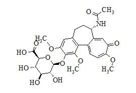 2-Demethyl Colchicine 2-O-β-D-Glucuronide