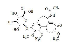 3-Demethyl Colchicine 3-O-β-D-Glucuronide