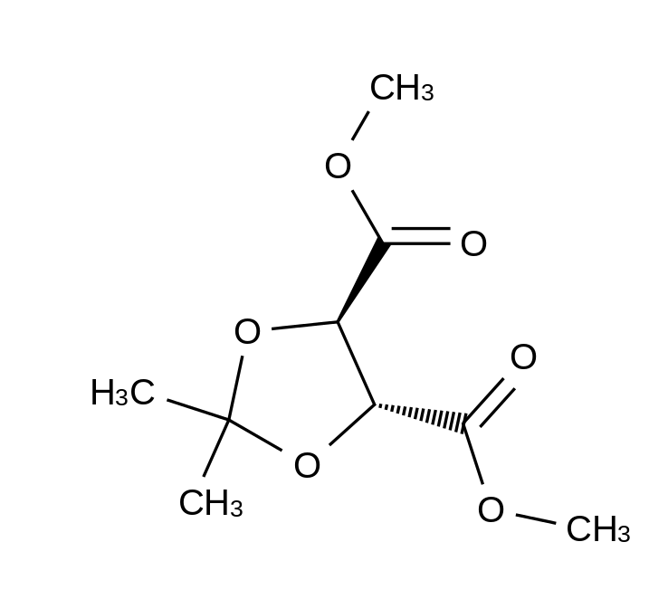 (-)-Dimethyl 2,3-O-isopropylidene-L-tartrate