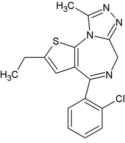 Etizolam (1.0 mg/mL in Methanol)