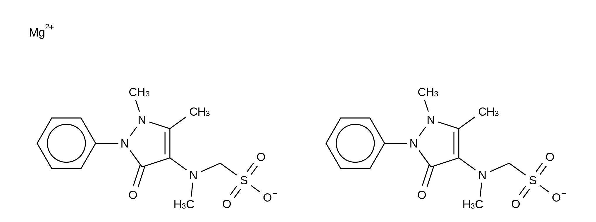 Metamizole Magnesium Salt