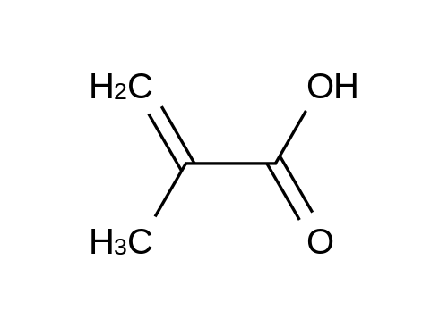 α-Methacrylic Acid