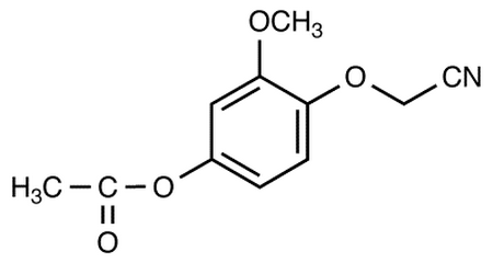 2-(4-Acetoxy-2-methoxyphenoxy)-acetonitrile
