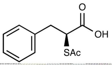 (S)-2-Acetylthio-3-phenylpropionic Acid
