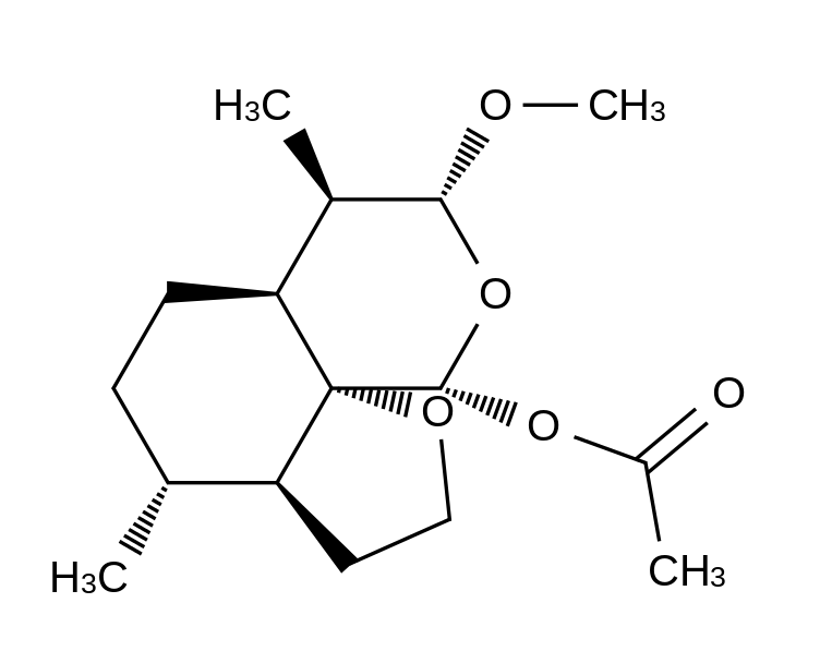 Artemether Tetrahydrofuran Acetate