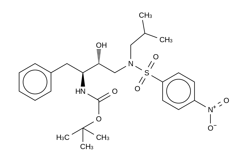 [(1S,2R)-1-Benzyl-2-hydroxy-3-[isobutyl[(4-nitro-phenyl)sulfonyl)]amino]propyl]-carbamic Acid tert-Butyl Ester