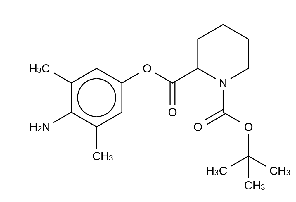 N-tert-Butyloxycarbonyl-L-pipecolic Acid 2,6-Dimethyl-benzenamine Ester