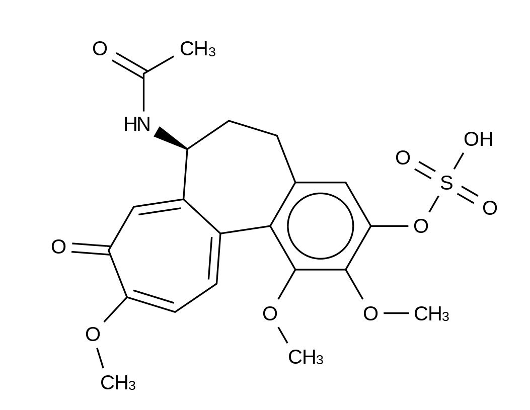 3-Demethyl Colchicine 3-O-Sulfate