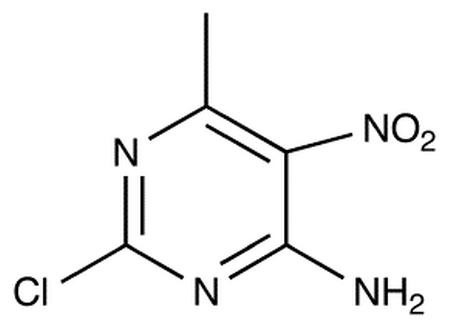 4-Amino-2-chloro-6-methyl-5-nitropyrimidine