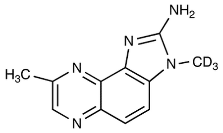 2-Amino-3,8-dimethylimidazo[4,5-f]quinoxaline-d<sub>3</sub>