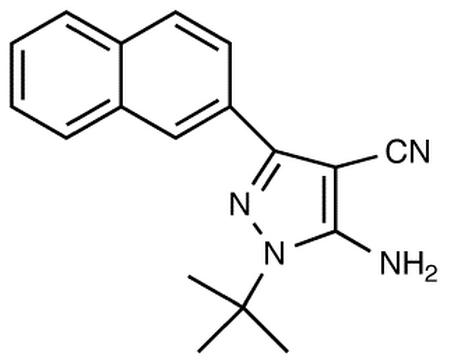 5-Amino-3-(1-naphthyl)-4-cyano-1-tert-butylpyrazole