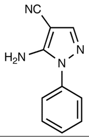 5-Amino-1-phenylpyrazolo-4-carbonitrile