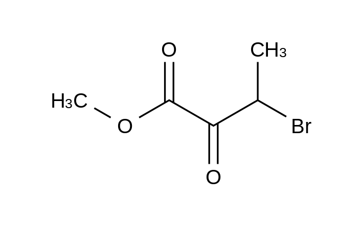 3-Bromo-2-oxobutanoic Acid Methyl Ester