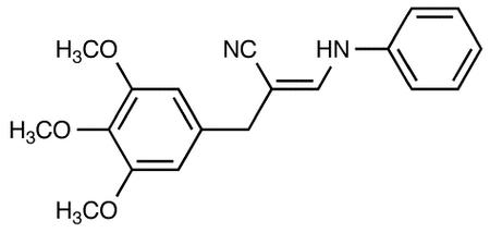 3-Anilino-2-(3,4,5-Trimethoxybenzyl) Acrylonitrile