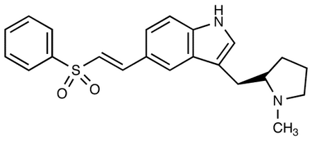 R-5-(2-Benzenesulfonylethenyl)-3-(N-methylpyrrolidin-2-ylmethyl)-1H-indole