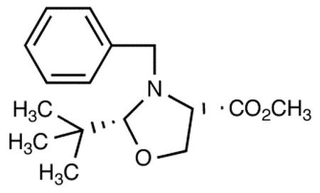(2R,4S)-N-Benzyl-2-t-butyloxazolidine-4-carboxylic Acid Methyl Ester
